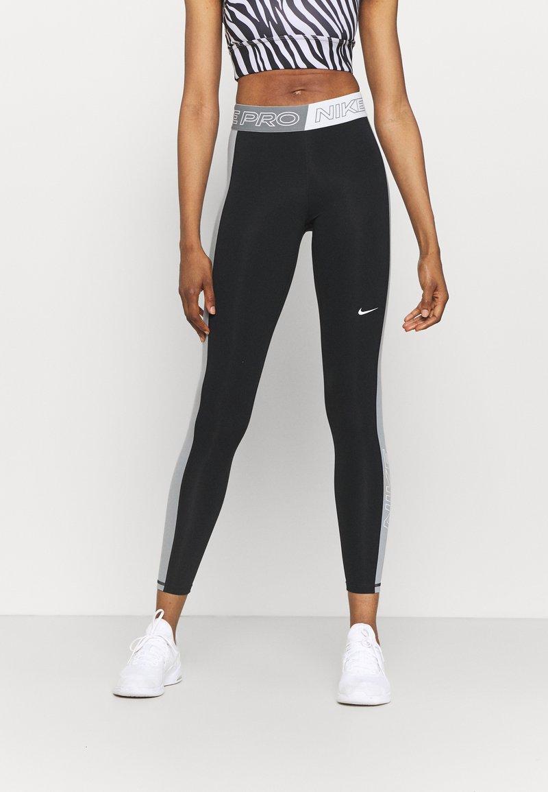 Nike Performance - Leggings - black/sail/iron grey
