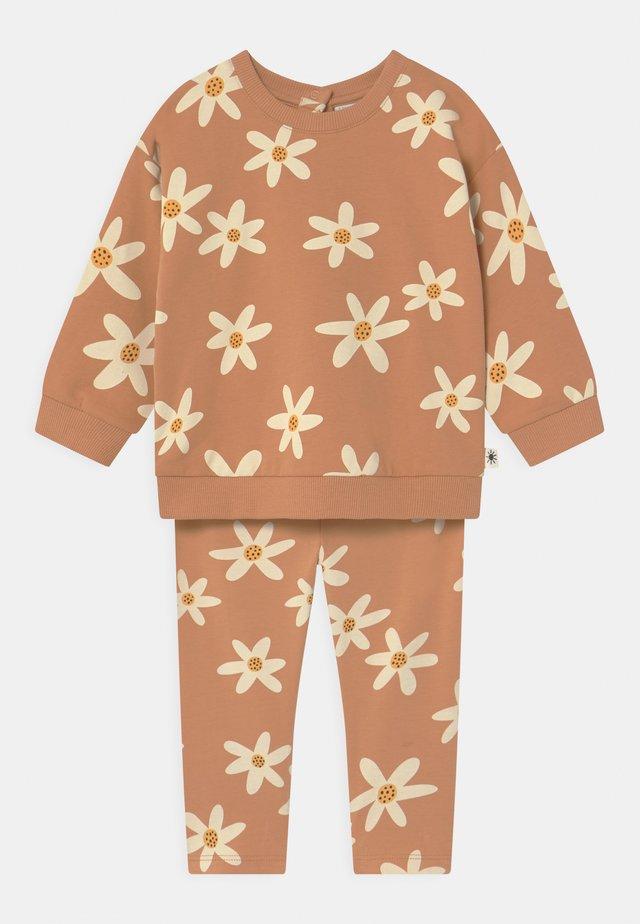 SET FLOWER  - Sweater - dark beige