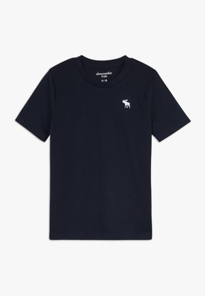 BASIC SOLID TEE - T-shirt - bas - navy