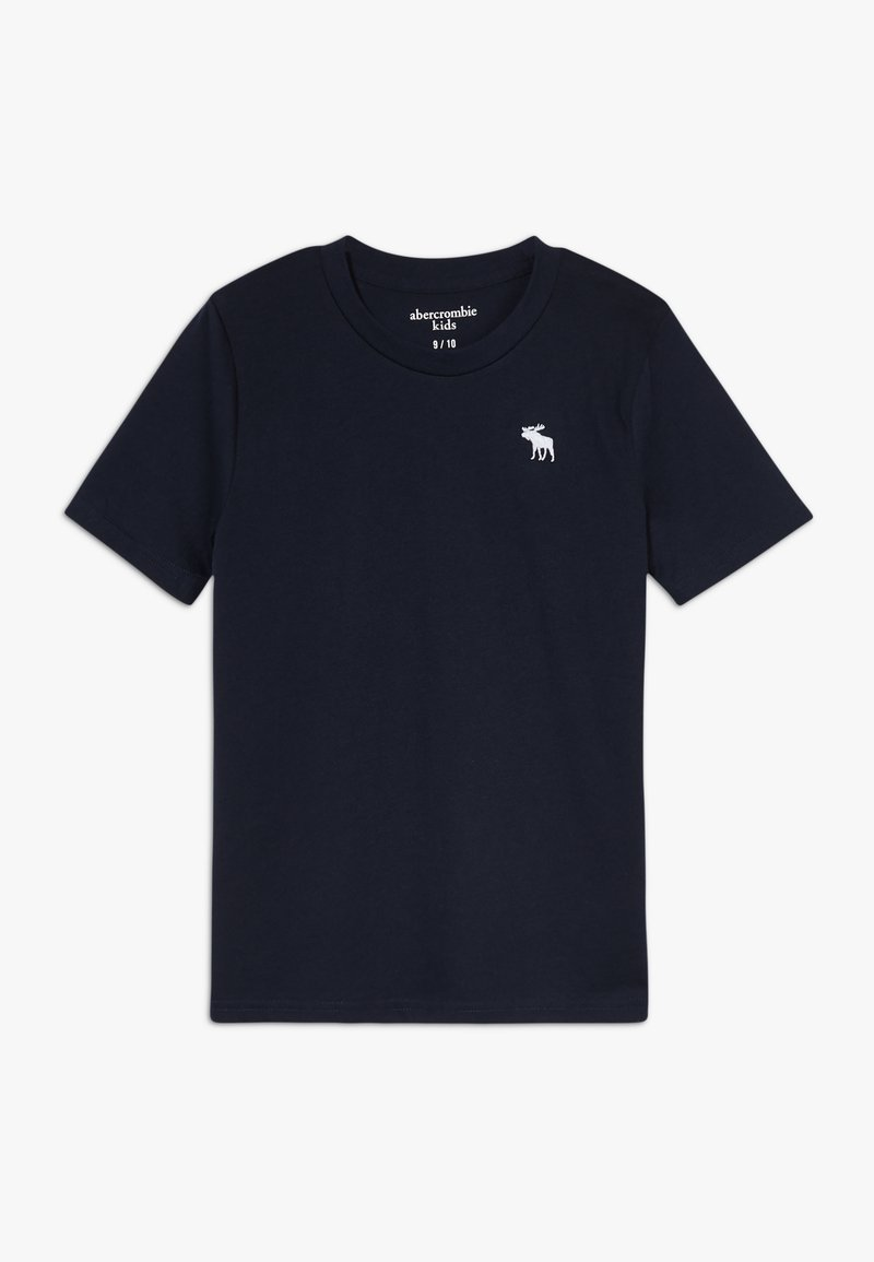 Abercrombie & Fitch - BASIC SOLID TEE - Basic T-shirt - navy