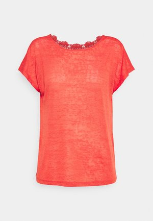 ONLCELINE  - Basic T-shirt - cayenne