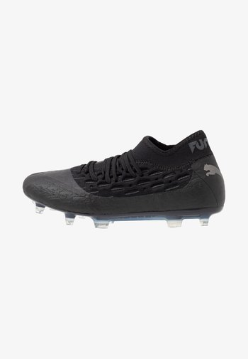 FUTURE 5.2 NETFIT FG/AG - Moulded stud football boots - black/asphalt