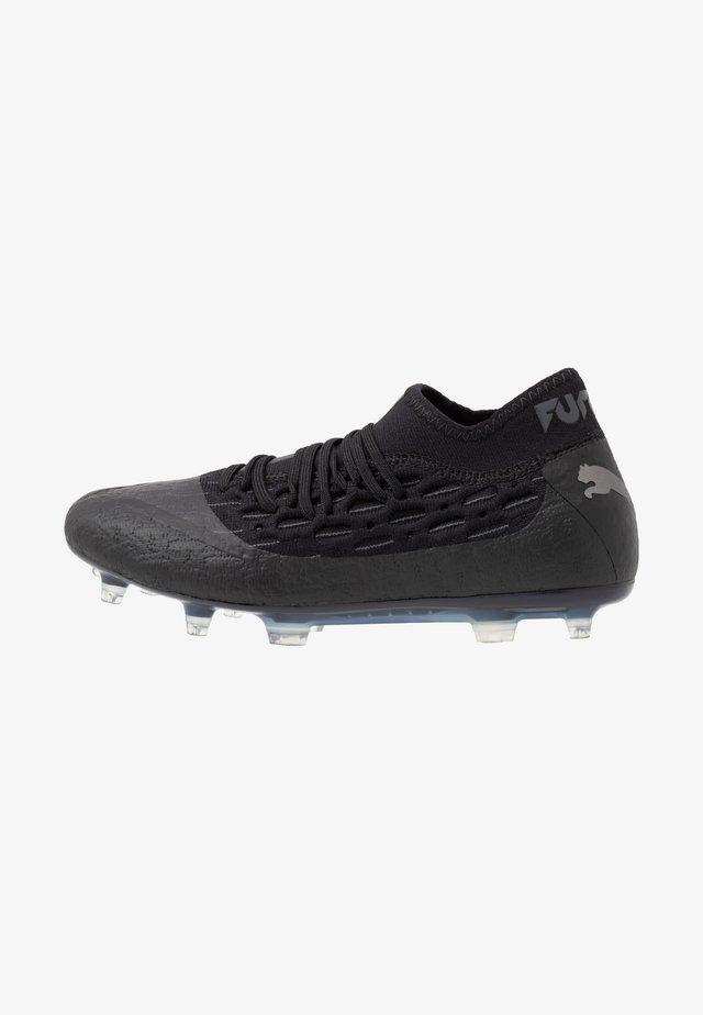 FUTURE 5.2 NETFIT FG/AG - Botas de fútbol con tacos - black/asphalt
