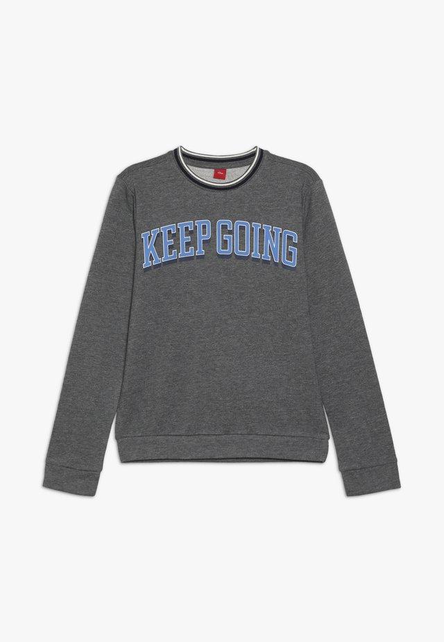 LANGARM - Sweatshirt - grey melange