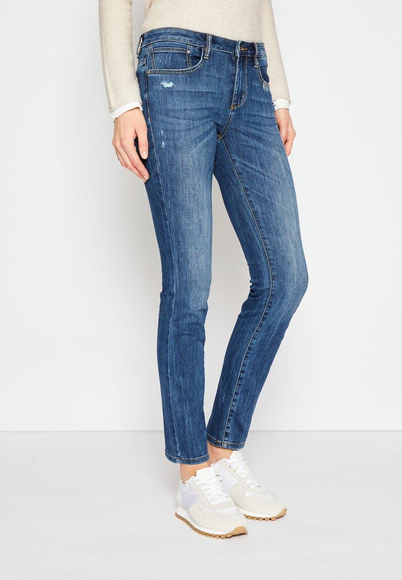 TOM TAILOR - ALEXA - Slim fit jeans - used mid stone blue denim