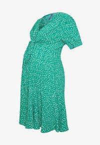 Seraphine - DAFFODIL TIE FRONT DRESS - Sukienka letnia - green - 4