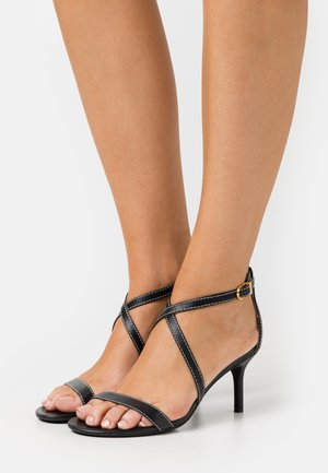 LEATON DRESS - Sandals - black