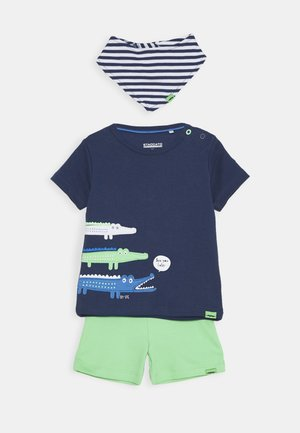 BIB SET - Short - dark blue/green