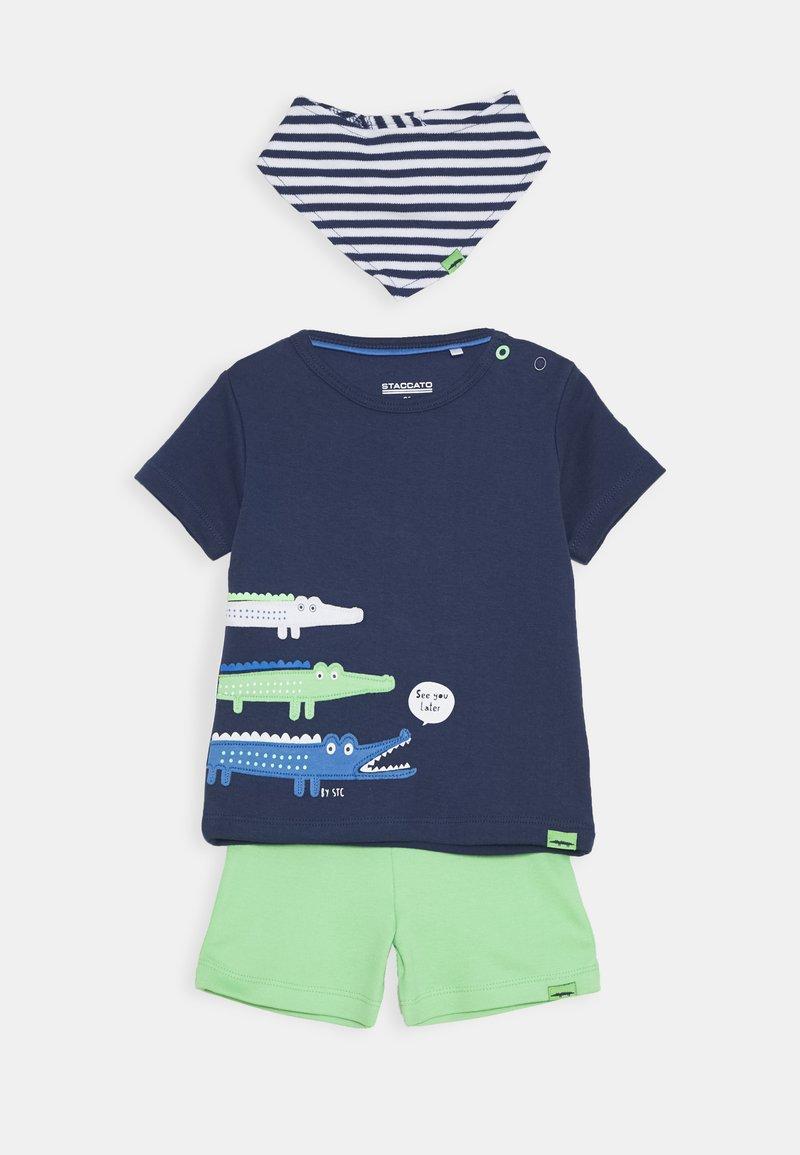 Staccato - BIB SET - Short - dark blue/green