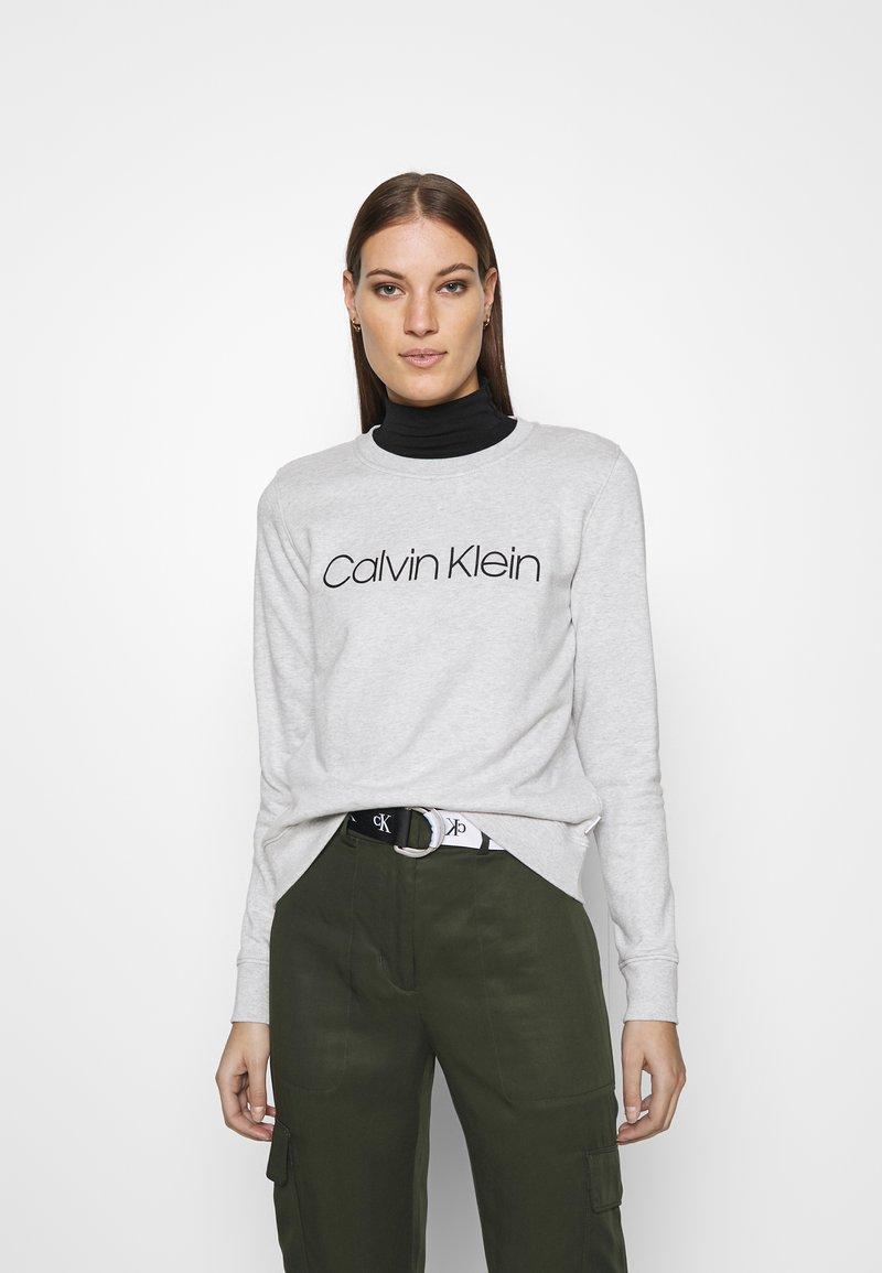 Calvin Klein - CORE LOGO - Felpa - grey