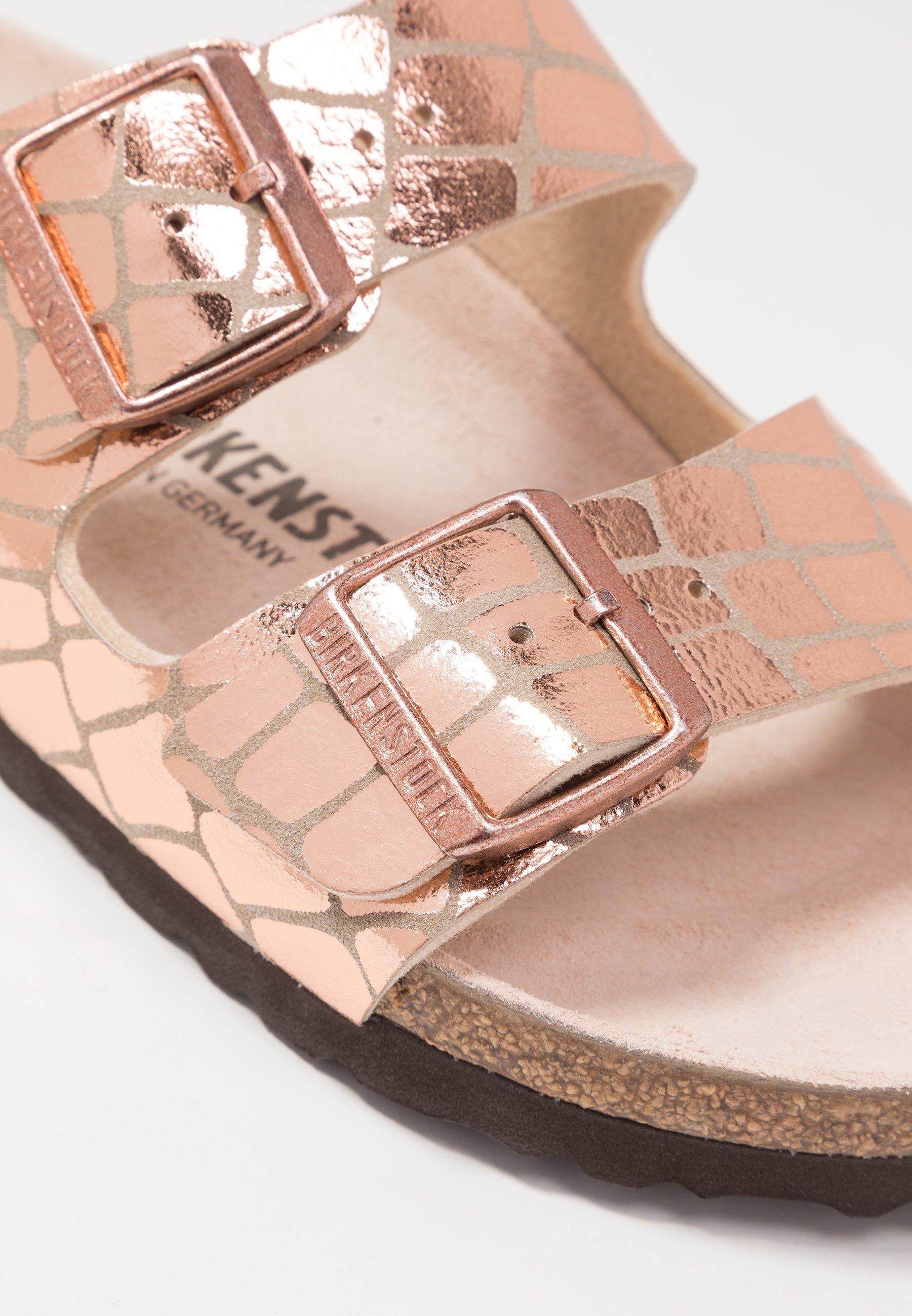 Birkenstock ARIZONA Hausschuh gator gleam copper/kupfer