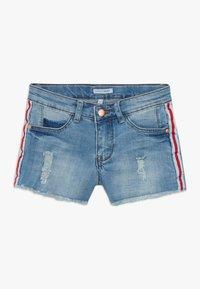 Lemon Beret - TEEN GIRLS - Denim shorts - medium blue - 0