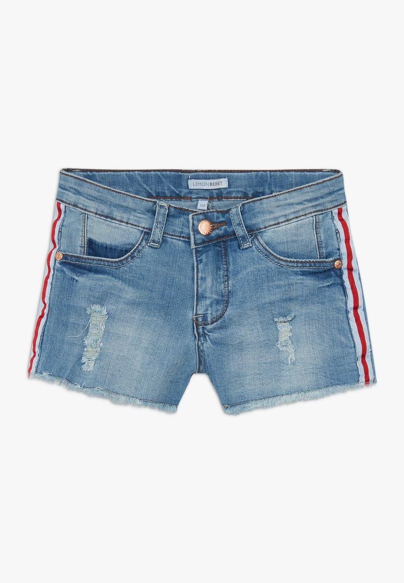 Lemon Beret - TEEN GIRLS - Denim shorts - medium blue