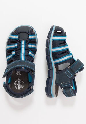 Walking sandals - navy/blu scuro