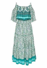 LASCANA - Maxi dress - grün-bedruckt - 1
