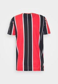 Brave Soul - ROCKY - Print T-shirt - black/red/white/gold - 6