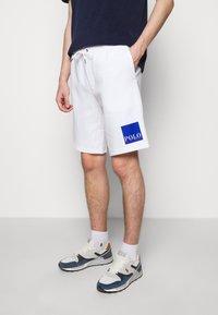 Polo Ralph Lauren - TECH - Tracksuit bottoms - white - 0