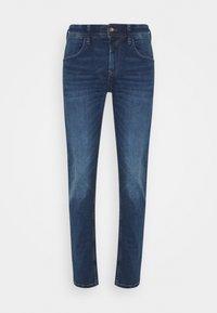 TOM TAILOR DENIM - SLIM PIERS - Jeans slim fit - used mid stone blue denim - 5