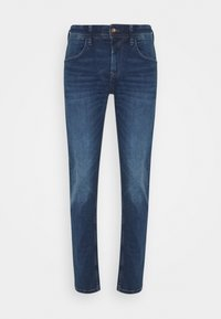SLIM PIERS - Slim fit jeans - used mid stone blue denim