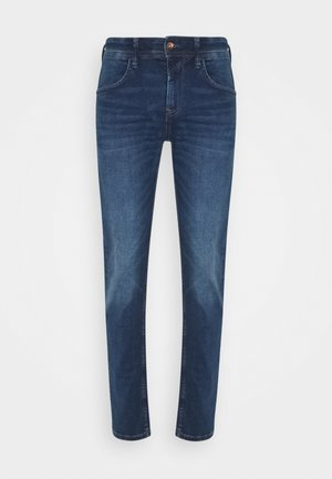 SLIM PIERS - Džíny Slim Fit - used mid stone blue denim