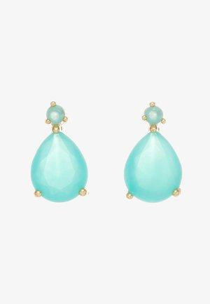JUDITH SMALL DROP EAR - Earrings - turquoise