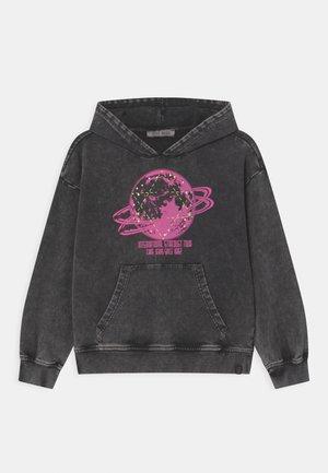 RIVER HOOD - Sweatshirt - black
