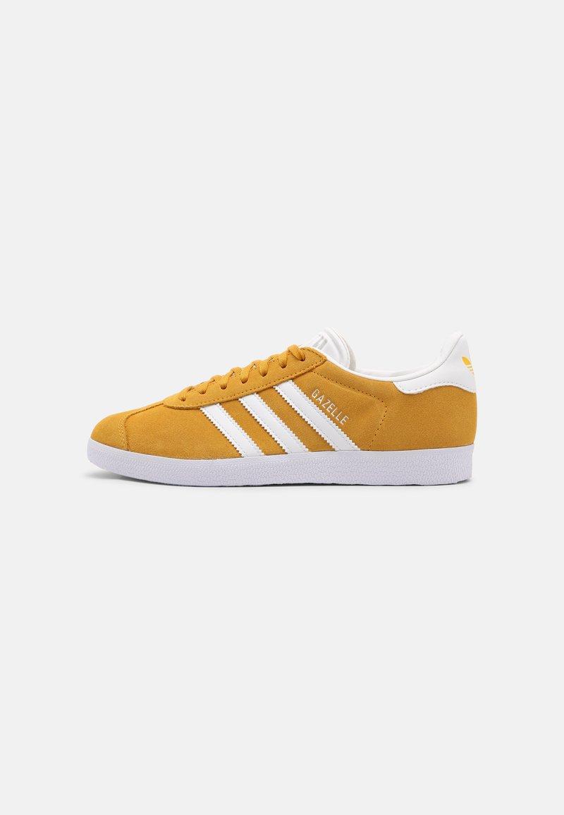 adidas Originals - GAZELLE SHOES - Trainers - crew yellow/white