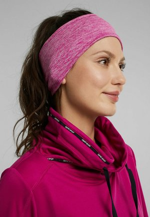 Ear warmers - berry red