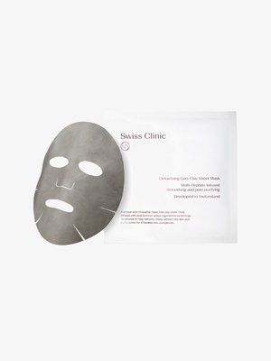 DETOXIFYING GREY CLAY SHEET MASK - Face mask - -
