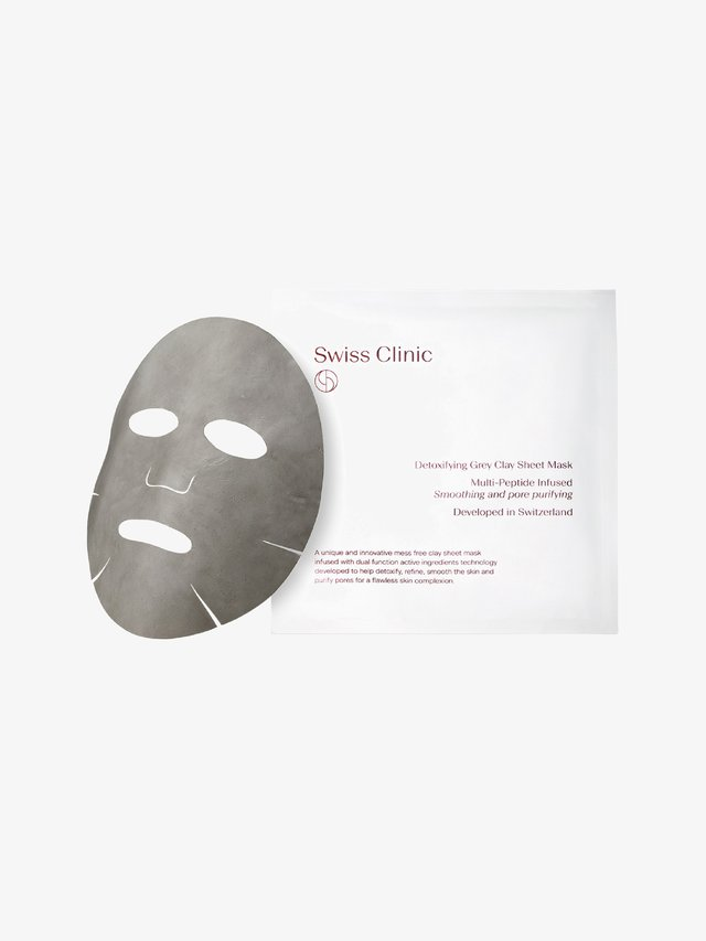 DETOXIFYING GREY CLAY SHEET MASK - Masker - -