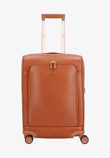 Wheeled suitcase - leather