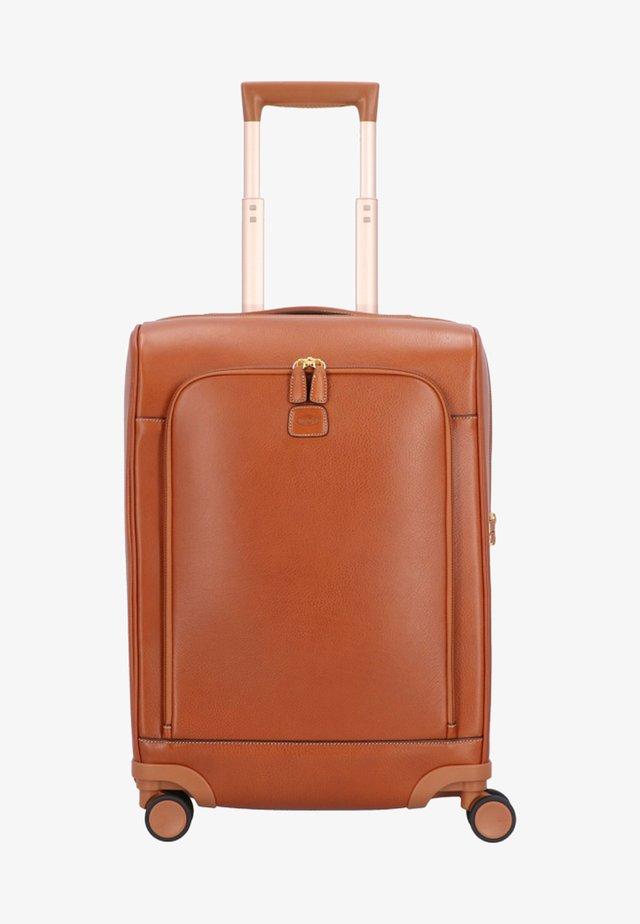 Valise à roulettes - leather