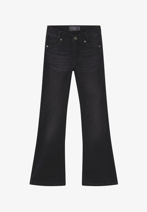 GIRLS FLARED - Bootcut jeans - black denim