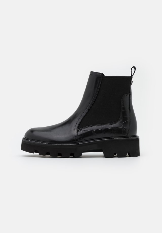 STOMPI - Korte laarzen - black