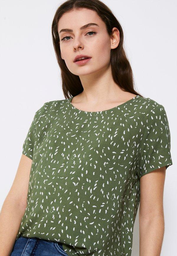 ICHI TESSA - T-shirt z nadrukiem - swap/zielony NUOM