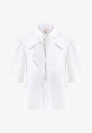 Button-down blouse - ivory