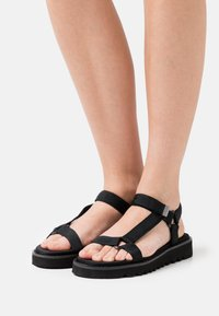 Even&Odd - Walking sandals - black - 0