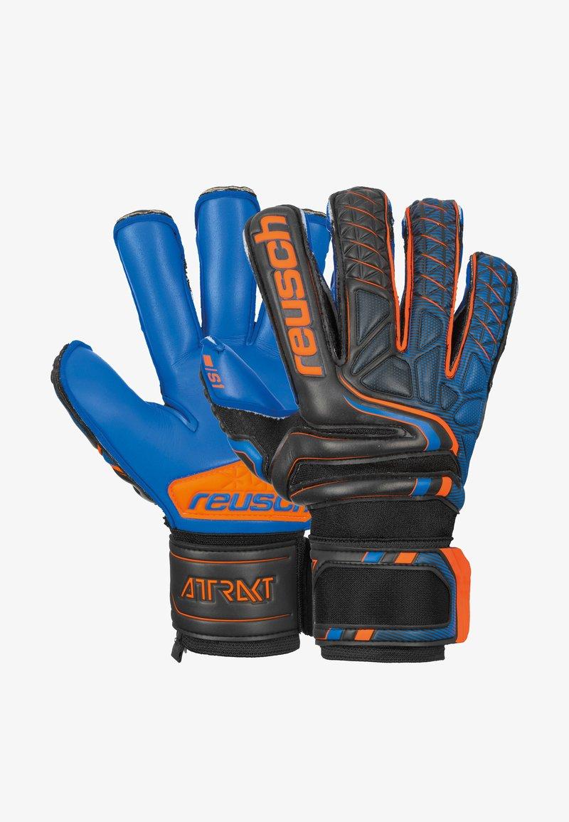Reusch - Gloves - blck/shock orange/deep b