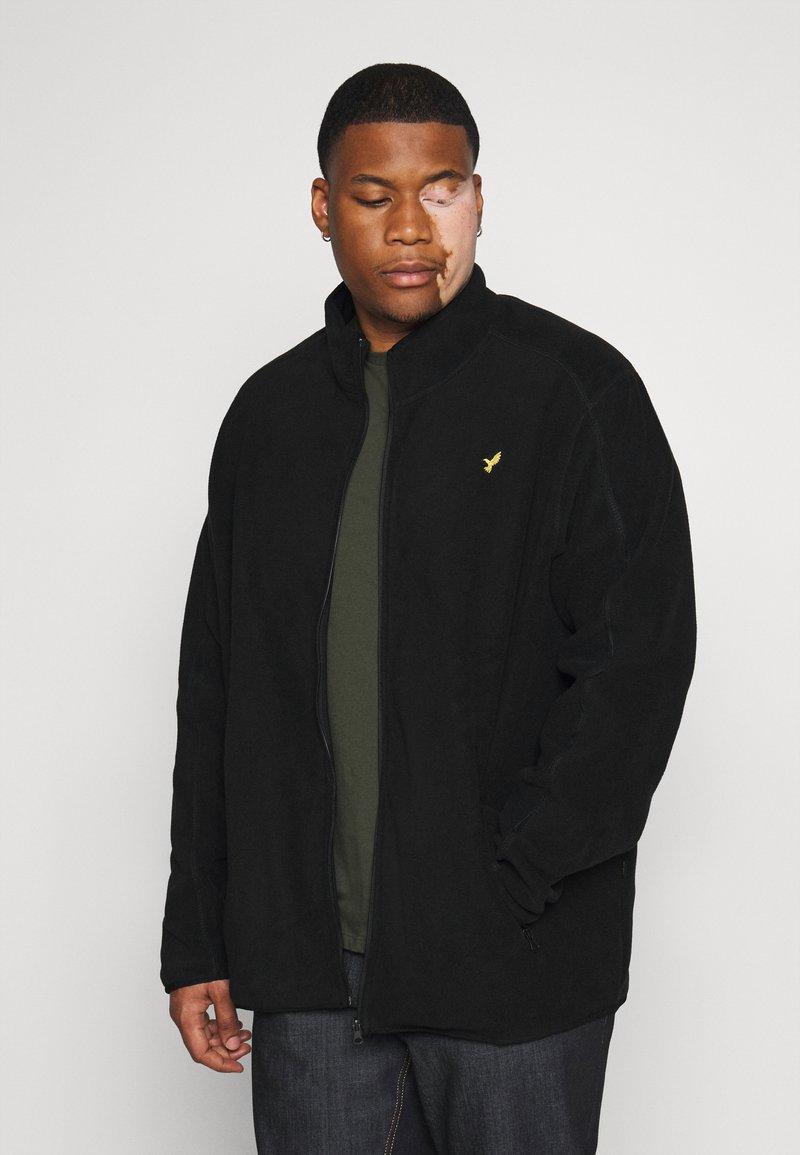 Pier One - Fleece jacket - black