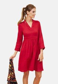 La Fiancée du Mékong - GAREN - Day dress - red - 2