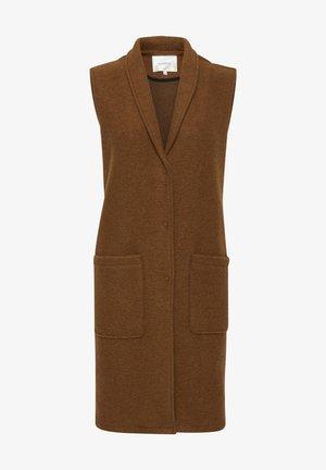 Waistcoat - rustic brown melange