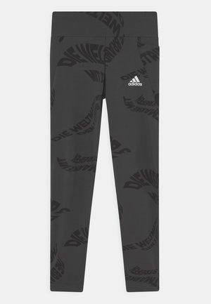 Leggings - carbon/black/white