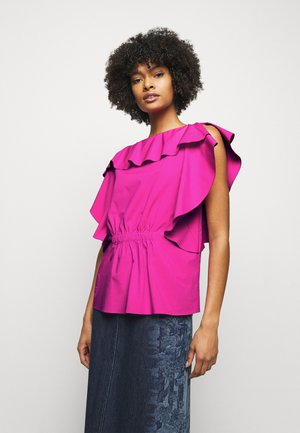 BLOUSE - T-shirt imprimé - violet
