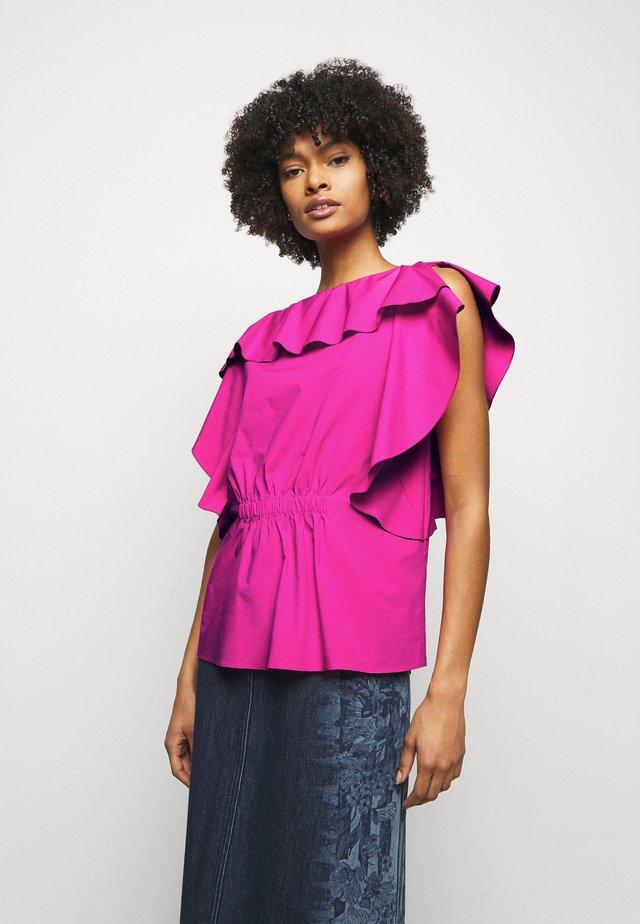 BLOUSE - Camiseta estampada - violet
