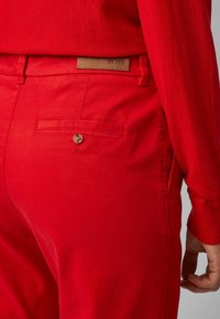 BOSS - SACHINI - Trousers - red - 3