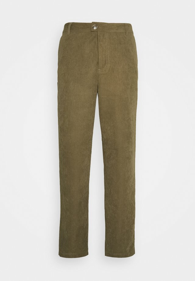 PANTS - Pantaloni - army dust