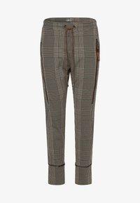 MAC - Leggings - Trousers - beige schoko - 3