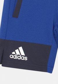 adidas Performance - BASKETBALL UNISEX - Sports shorts - bold blue/legend ink/pulse yellow - 2