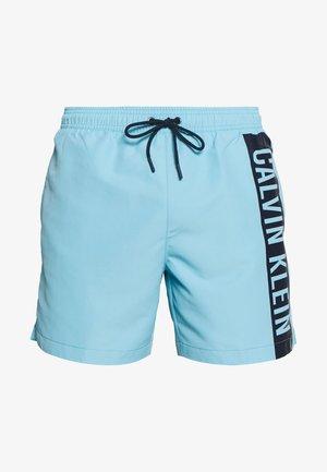 MEDIUM DRAWSTRING - Plavky - blue