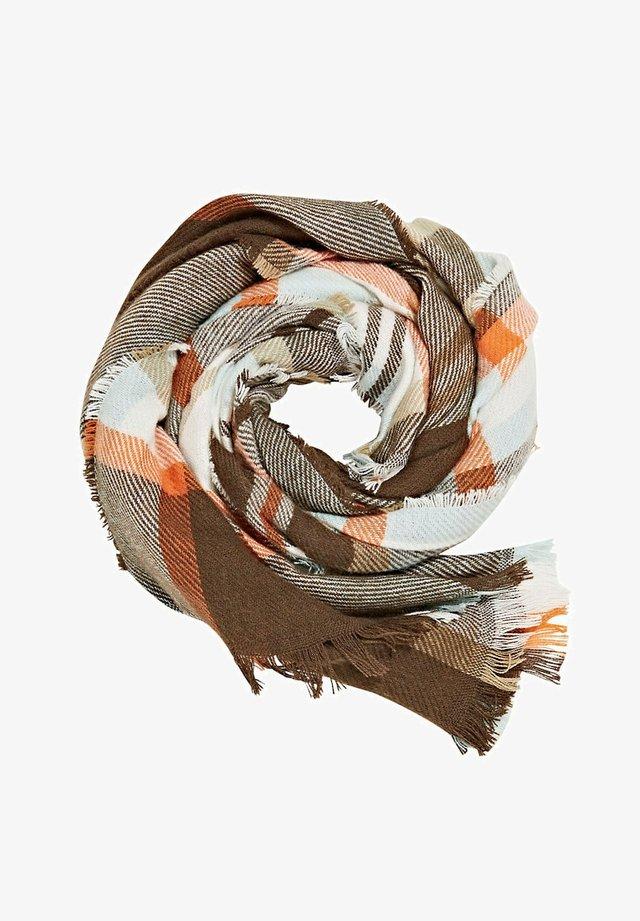 Sjaal - dark brown